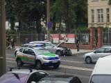 Zderzenie trzech samochodów na Głogowskiej w Poznaniu