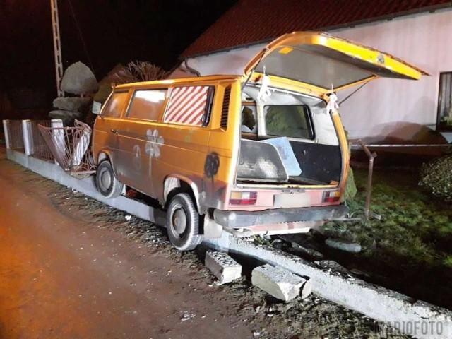 Pijany kierowca spowodował kolizję w Tarnowie Opolskim.
