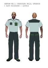 Studenci ASP zaprojektowali mundury dla strażników więziennych