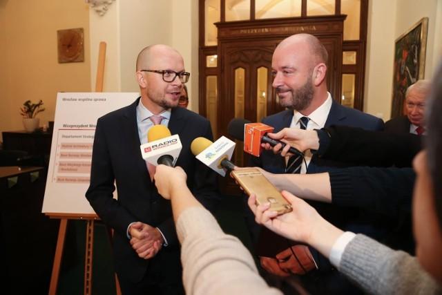 Jakub Mazur, nowy wiceprezydent Wrocławia. Czwarty w kolejności, ale pierwszy zastępca Jacka Sutryka