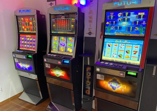 W jednym z lokali na terenie brodnickiego osiedla znaleziono trzy nielegalne automaty do gier