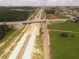 Budowa autostrady A1 w woj. śląskim - nowe ZDJĘCIA z drona [sierpień 2018]