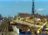 Kto pamięta? Tak 20 lat temu budowano DTŚ w Katowicach - zobacz te archiwalne zdjęcia. Oto Chorzowska i Roździeńskiego przed przebudową