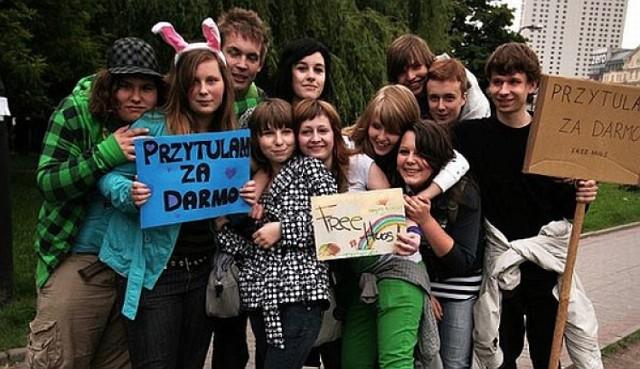 Darmowe Przytulanie w Warszawie już 31 stycznia