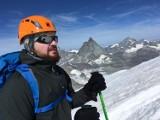 Niewidomy Dawid Gwoździk opowiada o zdobyciu szczytu Breithorn (4164 m.n.p.m.) w Alpach [ZDJĘCIA]