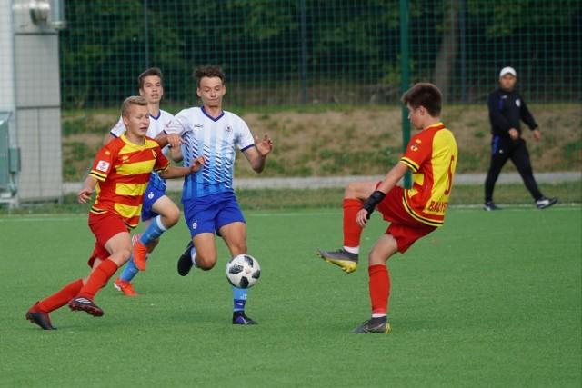 Jagiellonia Białystok wciąż ma komplet zwycięstw w Centralnej Lidze Juniorów U-15.