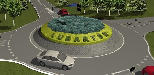 Tak będzie wyglądało nowe rondo w Lubartowie.