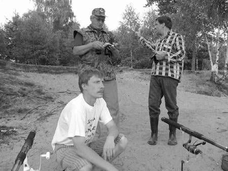 Prawdziwi wędkarze starają się pomagać pracownikom straży rybackiej patrolującym Pogorię.