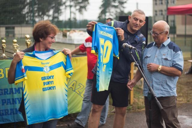 Działacze, piłkarze, kibice i sympatycy Wybrzeża Objazda świętowali pół wieku funkcjonowania klubu.