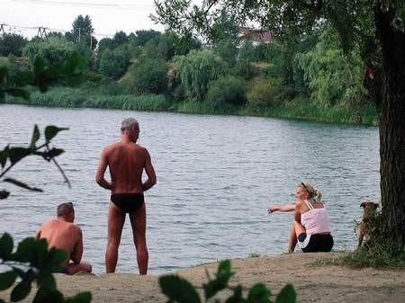 Nad Michalinę przychodzą przeważnie mieszkańcy Rakowa.   /  JAKUB MORKOWSKI