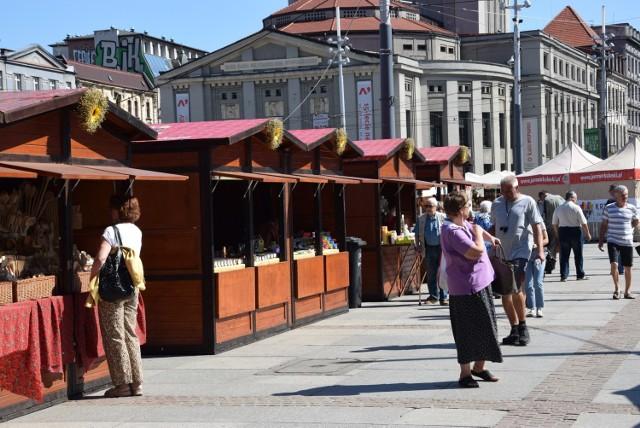 Jarmark na rynku w Katowicach