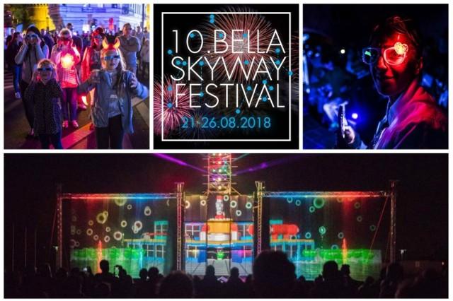 10. Bella Skyway Festival 2018 odbędzie się od 21 do 26 sierpnia. Festiwalowe instalacje będą zlokalizowane na toruńskiej starówce, Bydgoskim Przedmieściu, a być może również na stawie Kaszownik.   Zobacz koniecznie: Ulewa w Toruniu. Zobaczcie, ile miejsc zostało już zalanych! [ZDJĘCIA]  Z okazji jubileuszu przygotowano w tym roku dwie dodatkowe mega atrakcje! Jakie? Przeczytajcie! >>>>>>>  Polecamy: Chcesz być na bieżąco z informacjami o Bella Skyway Festival? Dołącz do naszej grupy na Facebooku!