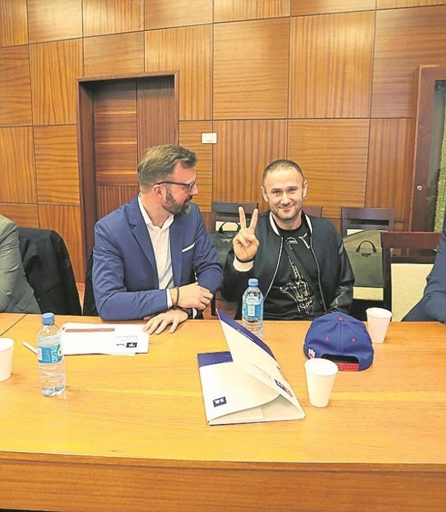 Robert Grabowski ze Szczecińskiej Agencji Artystycznej (z lewej) i Sylwester Ostrowski pracują nad kolejną edycją festiwalu