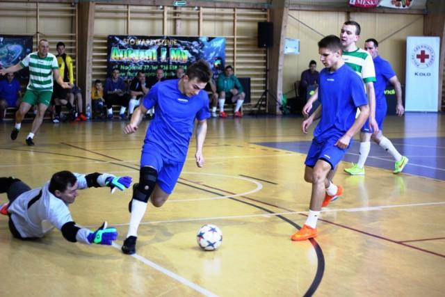 Charytatywny Turniej Piłki Nożnej Halowej w Babiaku
