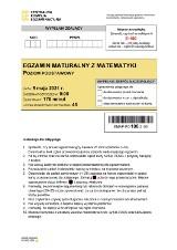 Egzamin maturalny 2021 - matematyka, poziom podstawowy. Arkusze CKE - matematyka 2021