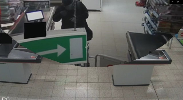 Policja szuka złodzieja z Żor. To on włamał się do marketu