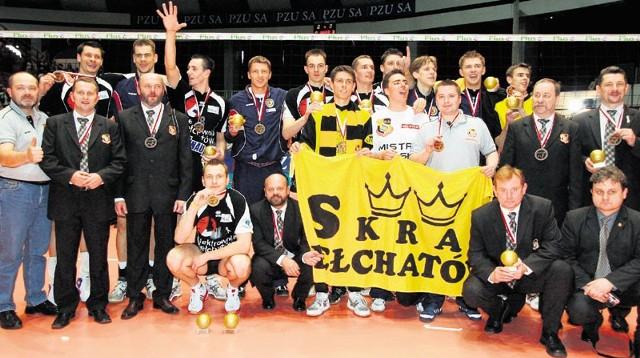 W hali w Olsztynie Skra zdobyła swoje pierwsze złoto. W Skrze z tamtej drużyny grają tylko Radosław Wnuk i Mariusz Wlazły