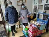 Pandemia. Mieszkańcy gm. Sławno pomogli podpiecznym hospicjum w Darłowie ZDJĘCIA