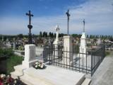 Renowacja zabytkowych pomników nagrobnych na cmentarzu w Kaszycach w gminie Orły, niedaleko Przemyśla [ZDJĘCIA]