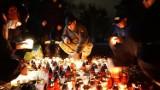 Lubliniec. Wojskowi, strażacy i harcerze zapalili znicze na Cmentarzu Wojskowym