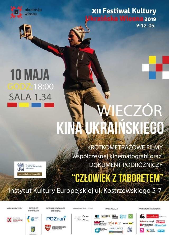 """Instytut Kultury Europejskiej UAM w Gnieźnie zaprasza na Wieczór Kina Ukraińskiego, który odbędzie się w piątek, 10 maja o godz. 18.00 w IKE w Gnieźnie. Pokaz jest wydarzeniem towarzyszącym festiwalowi kultury """"Ukraińska Wiosna""""."""
