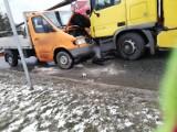 Mszana Dolna. Zderzenie z udziałem trzech aut. Są poszkodowani