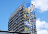 Nowe murale w Warszawie. Mają nietypowe funkcje. Oczyszczają powietrze i liczą długi