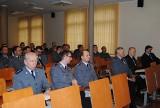 Roczna odprawa roczna z udziałem z-cy Wielkopolskiego Komendanta Wojewódzkiego Policji