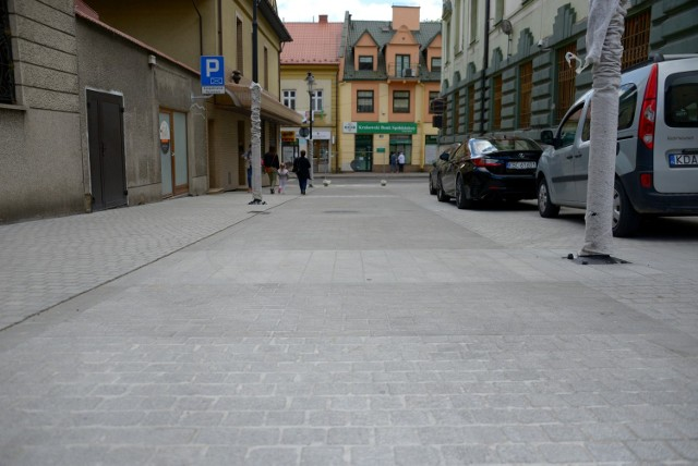 Przebudowany fragment ulicy Mickiewicza