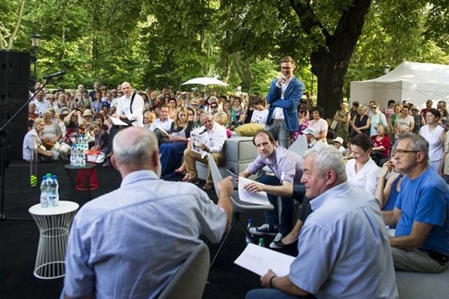 Imieniny Jana Kochanowskiego 14 czerwca 2014 Ogród Krasińskich Warszawa