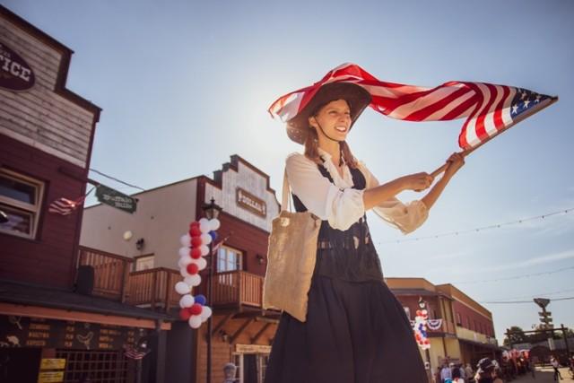4 lipca w miasteczku Twinpigs świętować będą Amerykański Dzień Niepodległości