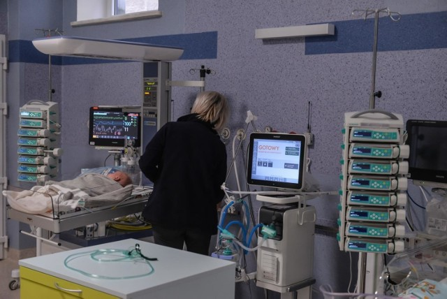 Oddział Intensywnej Terapii Dziecięcej w Uniwersyteckim Centrum Klinicznym w Gdańsku.