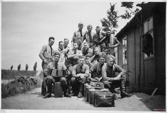 1937 Obóz RAD (niem. Reichsarbeitsdienst)