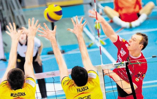 W fazie zasadniczej dwukrotnie lepsza była drużyna PGE Skry Bełchatów