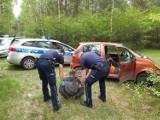 Gruchotem, z promilami, uciekał przed policją do lasu. Policjanci zatrzymali trzech nietrzeźwych kierujących.