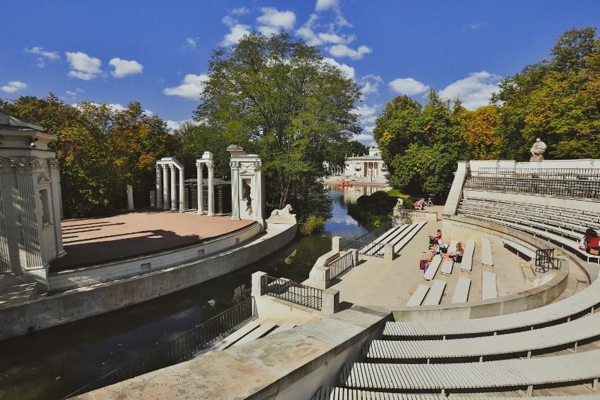 Amfiteatr W łazienkach Królewskich Zostanie Zabudowany