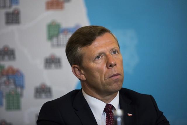 Wojewoda Piotr Ćwik