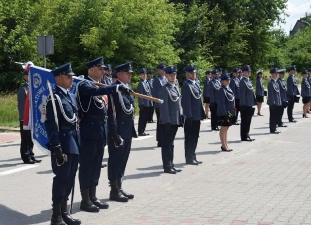 Uroczystość odbyła się w ostatni czwartek, 22 lipca na placu przed Komendą Powiatową Policji w Grójcu.