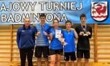 UKS Bliza Władysławowo na turnieju badmintona w Miastku. Paweł Oberzig i jego fenomenalny hat-trick. Marta Czajka i Adam Fikus też złoci!
