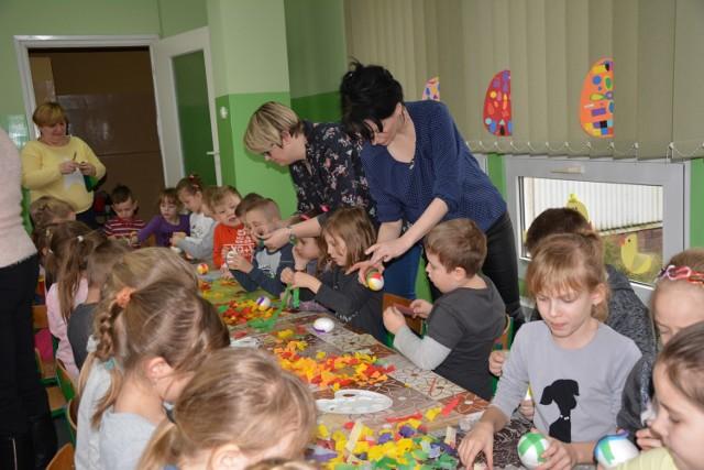Przedszkolaki z Poddębic poczuły atmosferę świąt Wielkanocy