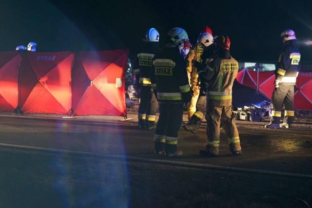 Śmiertelny wypadek w miejscowości Beznatka  pod Kaliszem