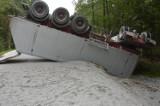 Groźny wypadek w powiecie jarosławskim [ZDJĘCIA]