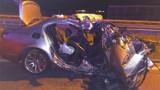 Śmiertelny wypadek na autostradzie A1 obok Włocławka. Nie żyje mężczyzna, 4 osoby w szpitalu [zdjęcia]
