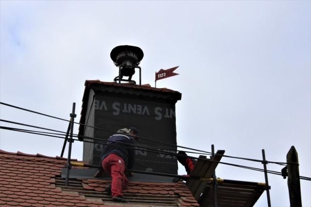 Remiza strażacka po remoncie od dachu po sam dól, jak nowa