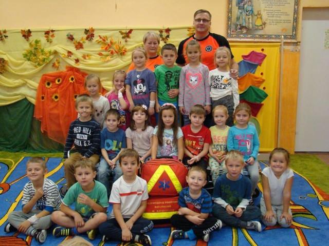 Przedszkole w Jastrzębiu: zajęcia z pierwszej pomocy