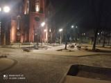 Tak wygląda plac Kopernika wieczorem. Efekty przebudowy placu są już widoczne