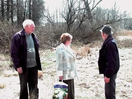 Mieszkańcy ul. Ogrodowej w Mstowie nie chcą przepompowni w tym miejscu. fot. GRAŻYNA FOLARON