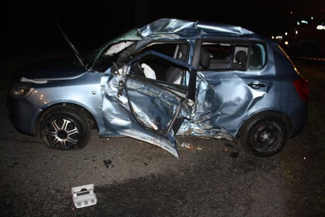 Wypadek w Karbowie. 27-letni torunianin nie żyje