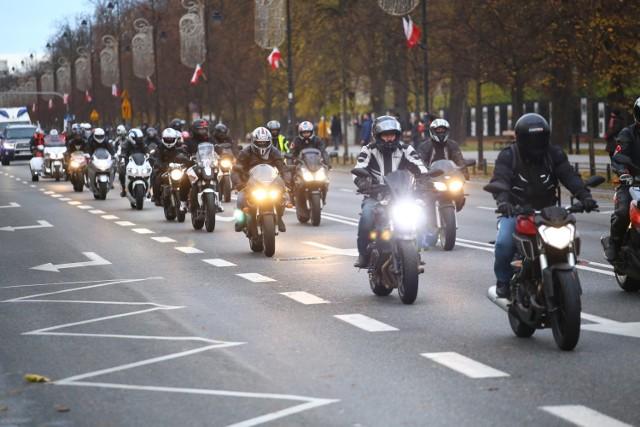 Rock Niepodległości 2017. Największy patriotyczny przejazd motocyklistów [ZDJĘCIA]
