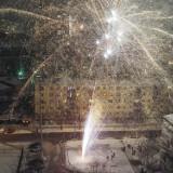 Bydgoszczanie powitali Nowy Rok na Starym Rynku  [wideo]